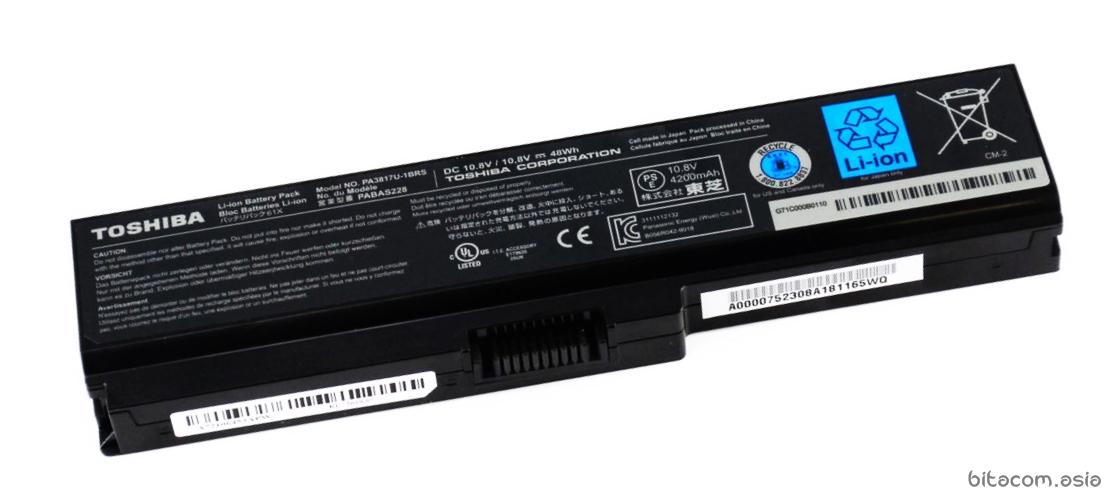 Baterai toshiba Original L600 L635 L640, L645, L735, L740, L745, C600