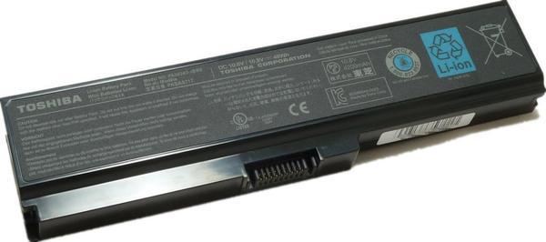 Baterai original Toshiba Satellite L310 M300 M305 U400 M500 PA3634