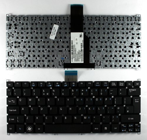 KEYBOARD LAPTOP ACER ASPIRE ONE 725, AO725, AOD725, 756, AO756, AOD756