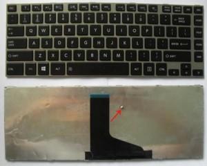 KEYBOARD LAPTOP TOSHIBA SATELLITE L600, L630, L640, L640D, L645, L645D, L730, L735, L740, L745, C600, C640 SERIES( BLACK)