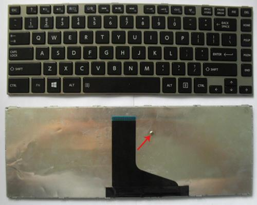 KEYBOARD LAPTOP TOSHIBA SATELLITE L600, L630, L640, L640D, L645, L645D, L730, L735, L740, L745, C600, C640 SERIES( BLACK)
