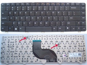 Keyboard DELL Inspiron N4010 N4020 N4030 14R 14V N5020 N5030 Black
