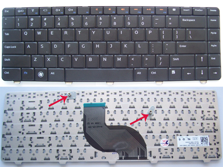 Keyboard DELL Inspiron N4010 N4020 N4030 14R 14V N5020 N5030 Black