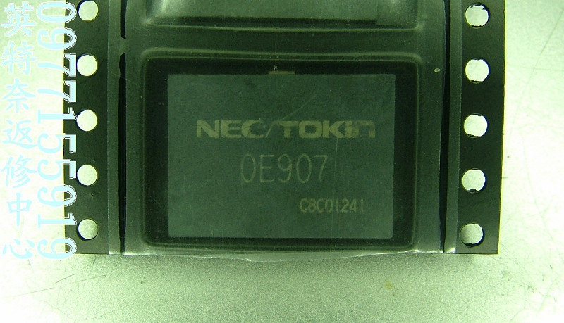 Capacitor Nec Tokin 0e907 Ic Kapasitor Buat Laptop / Notebook