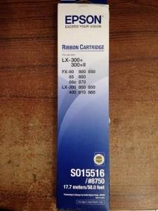 Epson Ribbon Cartridge LX-300 /  LX-300+/  LX-300+II / 800/ 850 Original