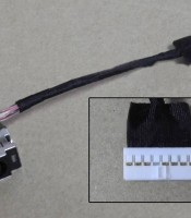 dc jack connector HP CQ42 G42 with cable