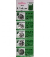 Baterai CMOS CR2032 3V Micro Lithium Coin Lithium Cell Battery 2032 1 slot 5 pcs baterai cmos.