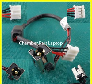 DC Connector ASUS K43 K53E K53U K53T K53E-BBR1 X43B K43BY with Cable