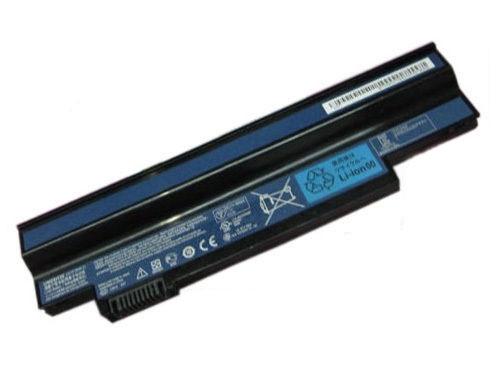 Replacement Baterai Laptop Acer Aspire One 532H, AO532H, AO532G, NAV50 Series eMachines EM350 / UM09C31, UM09G31, UM09H31, UM09H36, UM09H41, UM09H51, UM09G51, UM09H56, UM09H70, UM09H71 UM09H73, UM09H75 (Black -4400mAH)
