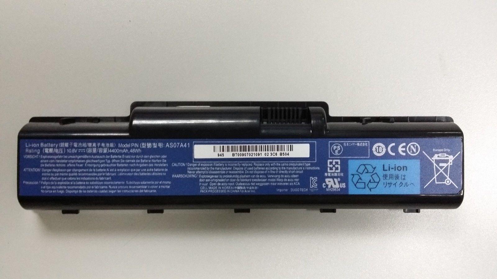 Baterai ORIGINAL Laptop Acer Aspire 4736Z, 4736G, 4740, 4310, 4520, 4710, 4720, 4730, 4920, 4930, 2930, AS07A41, AS07A71, AS07A73, AS07A74
