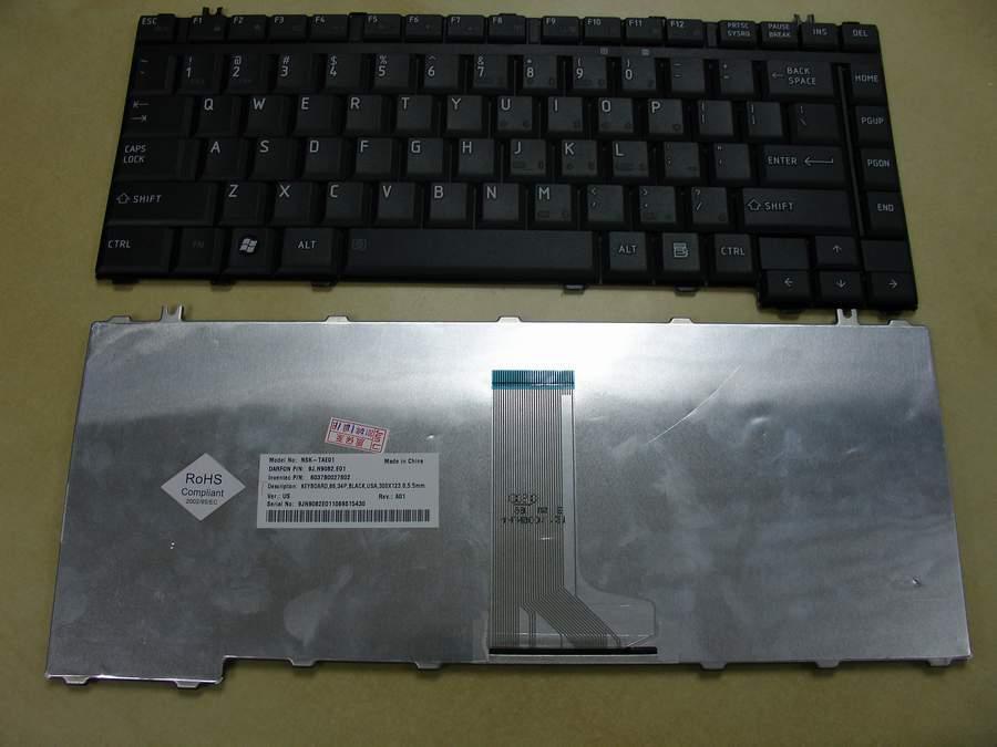 Keyboard Laptop Toshiba Satellite A200, A205, A210, A215, M200, M205, M300, M305, L200, L205, L300, L510, L511, L512, L515, L517