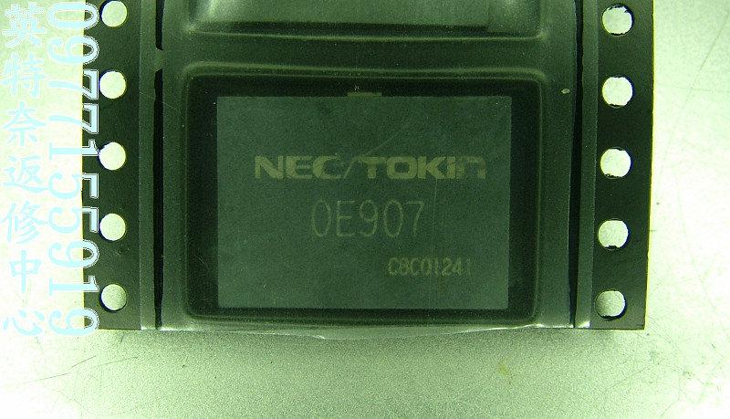 Capacitor Nec Tokin 0e907 Ic Kapasitor Buat Laptop / Notebook
